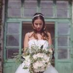 Organic Italian Villa Bridal Shoot 'September Lemons'