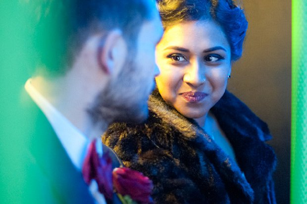 Red, Gold & Orange Bangladeshi Scottish Fusion Wedding: Will & Miri