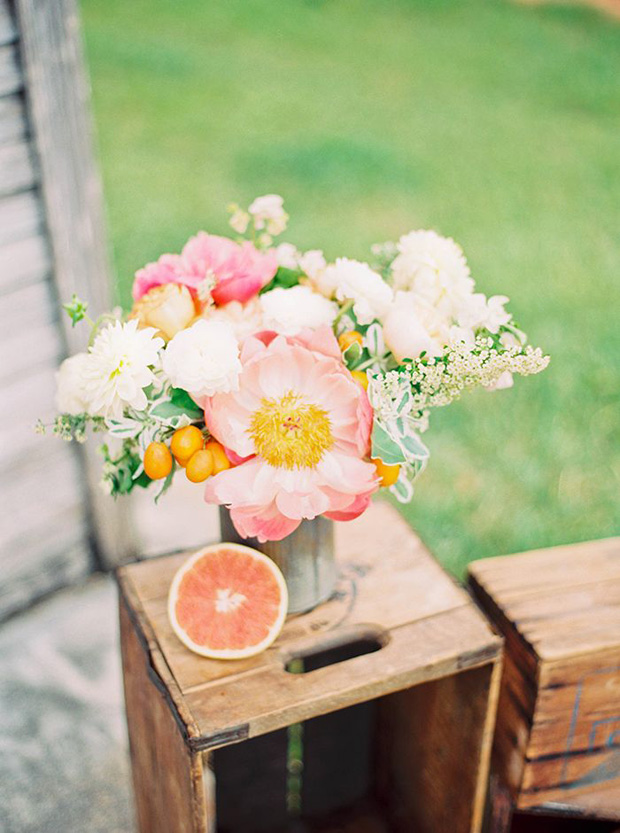 Sophisticated Citrus Wedding Inspiration & deas