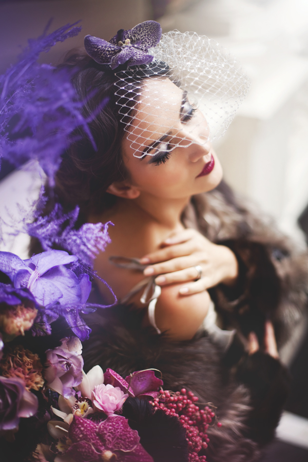 Velvet Orchid Styled Wedding Shoot (14)