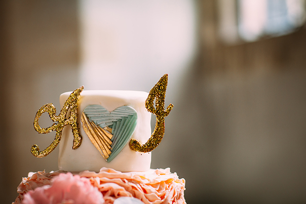 mint green, coral and gold real wedding (100)