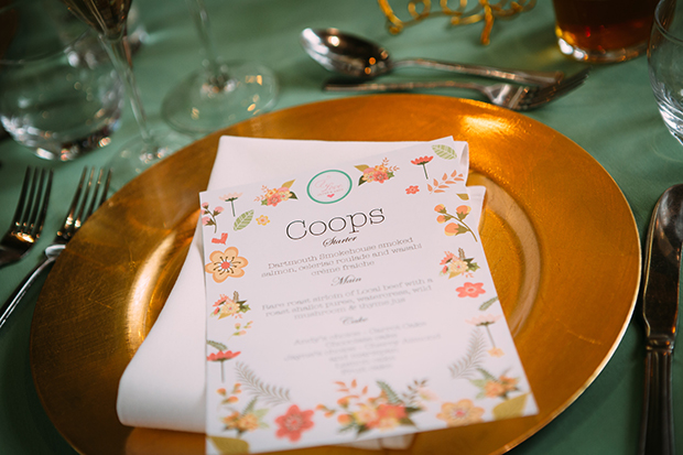 mint green, coral and gold real wedding (107)