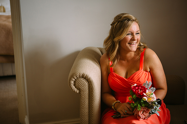 mint green, coral and gold real wedding (28)