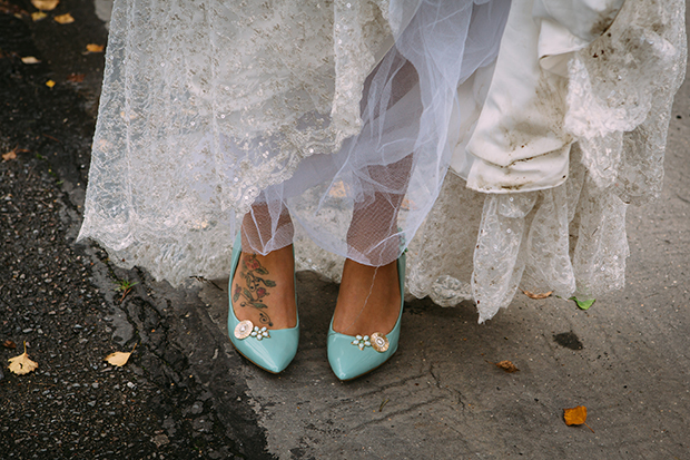 mint green, coral and gold real wedding (60)