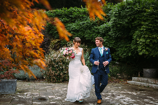 mint green, coral and gold real wedding (66)
