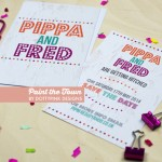 Dotty Pink Designs: Off The Peg Wedding Stationery Collection