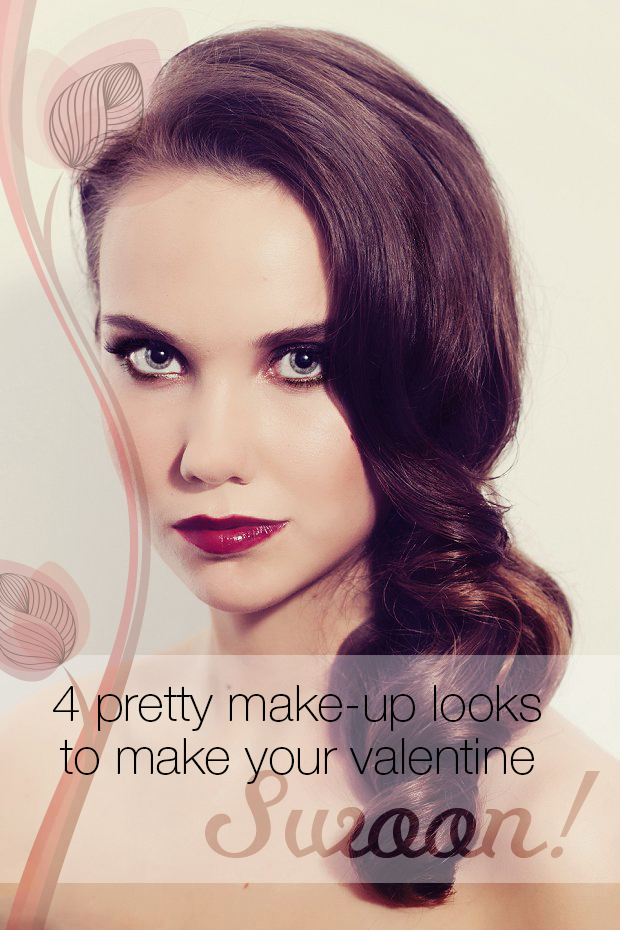 4 pretty makeup looks to make your Valentine swoon!