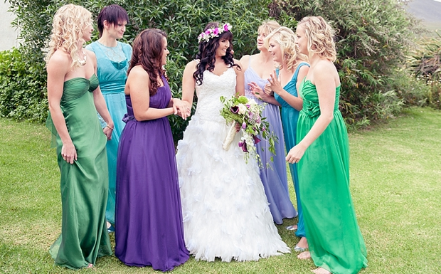 A Colourful Boho Chic Forest Wedding Donia & Chris (55)