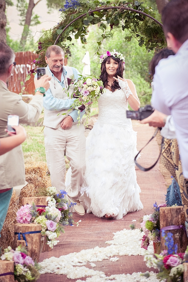 A Colourful Boho Chic Forest Wedding Donia & Chris (65)