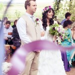 A Colourful Boho Forest Wedding: Donia & Chris