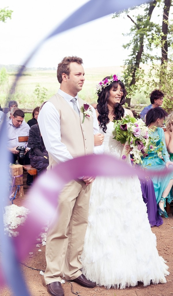 A Colourful Boho Chic Forest Wedding Donia & Chris (68)