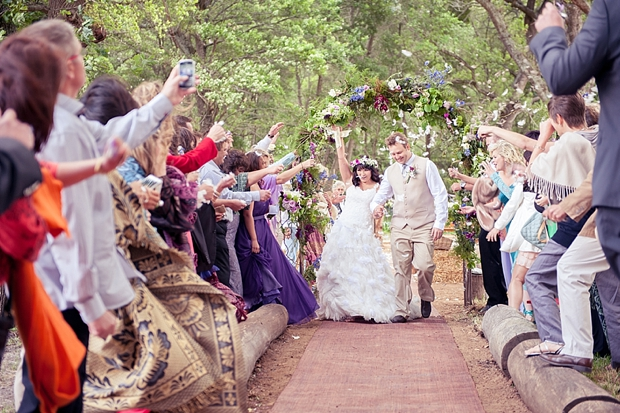 A Colourful Boho Chic Forest Wedding Donia & Chris (72)