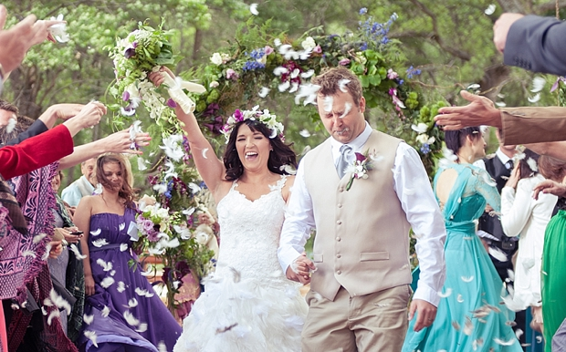 A Colourful Boho Chic Forest Wedding Donia & Chris (73)