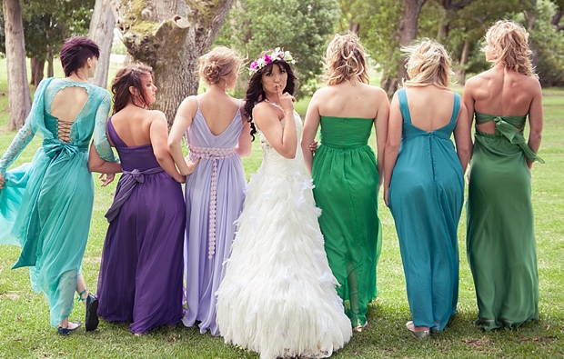 A Colourful Boho Chic Forest Wedding Donia & Chris (80)
