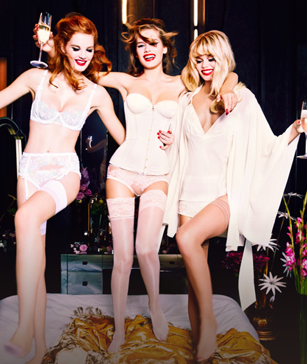 Agent Provocateur: Bridal Lingerie & Nightwear | Spring / Summer 2015