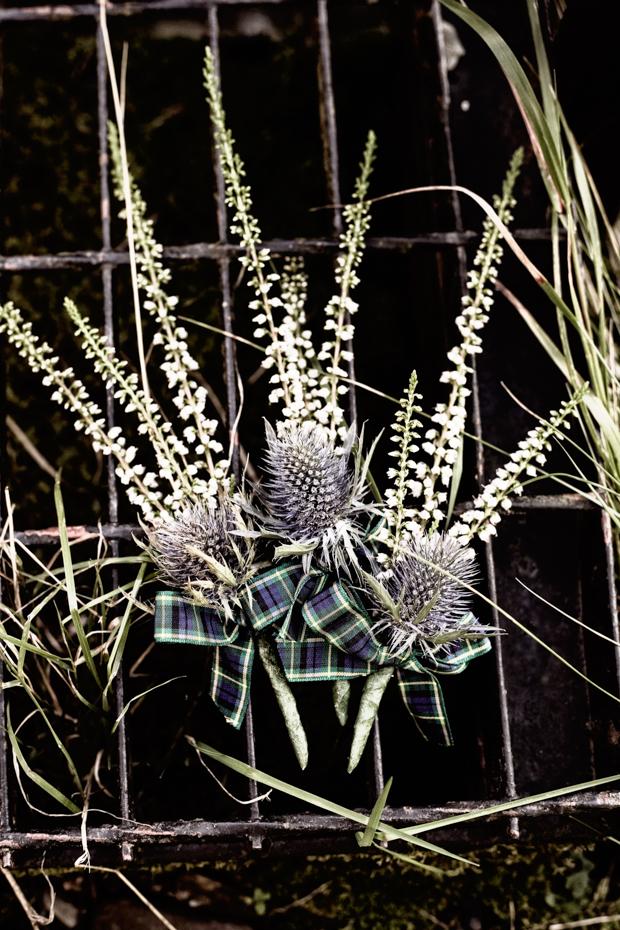 Pinterest Inspired Scottish Wedding With Fashion Designer Bride