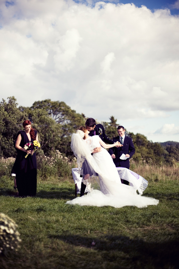 Pinterest Inspired Scottish Wedding With Fashion Designer Bride: Alexis & Joel