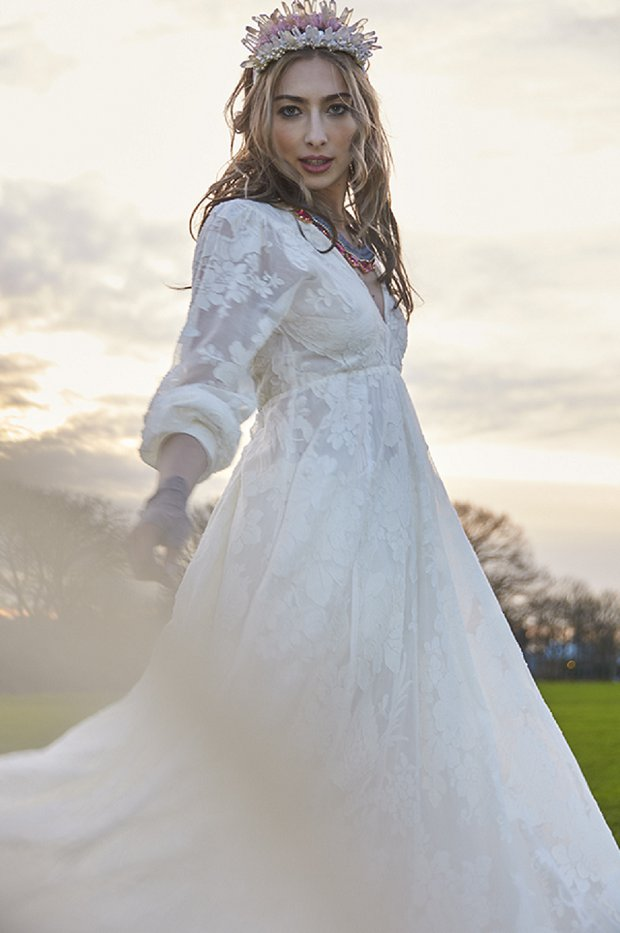Making A Statement! A Beautiful Bohemian Bridal Shoot