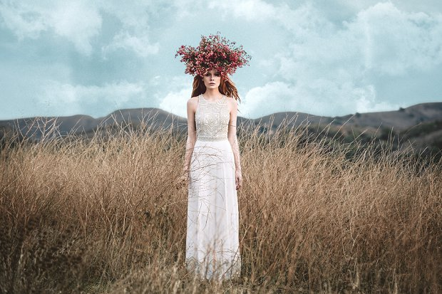 Mara Hoffman Bridal Gowns: 'Devotional Collection'