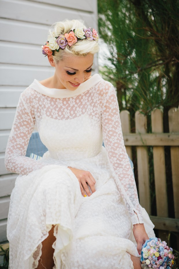 Win Rosey Posey Floral Headwear For You And Your Bridesmaids!