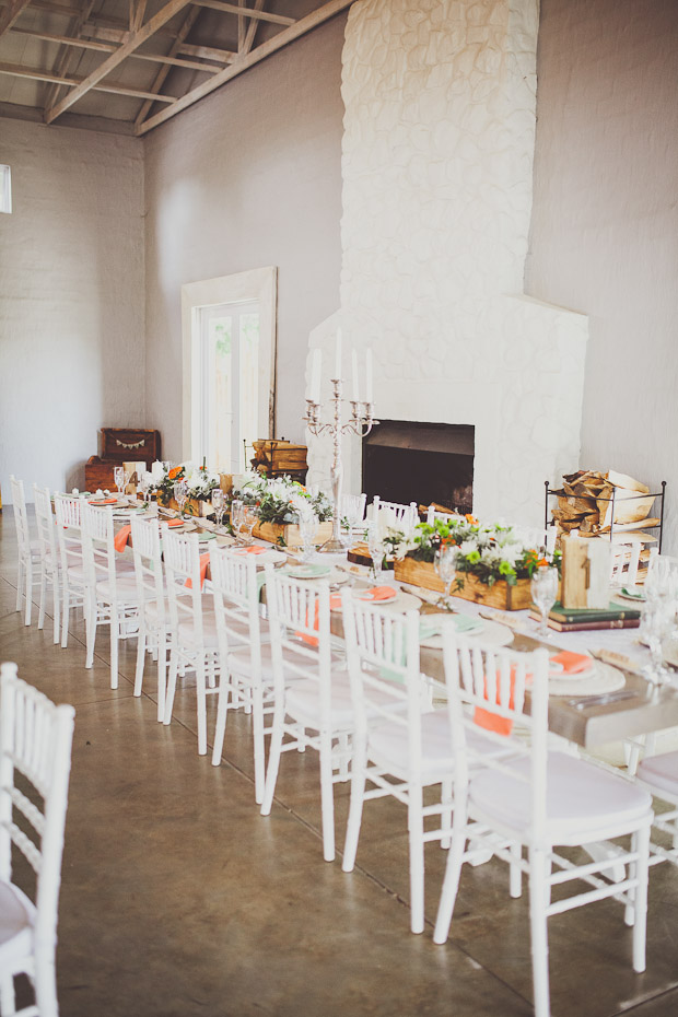 Pretty Peach & Mint! An Elegantly Rustic Wedding With A Wolf Monogram: Ryan & Kerran