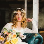 Teal, Emerald & Gold Sequins: Wedding Inspiration & Colour Ideas