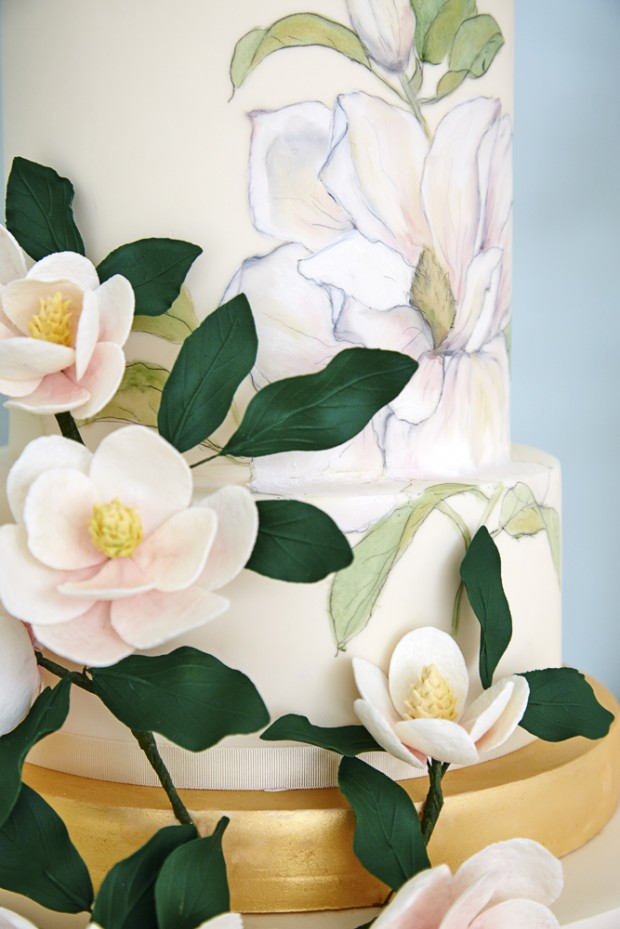 The Botanical Collection by Rosalind Miller: Beautiful Wedding Cakes