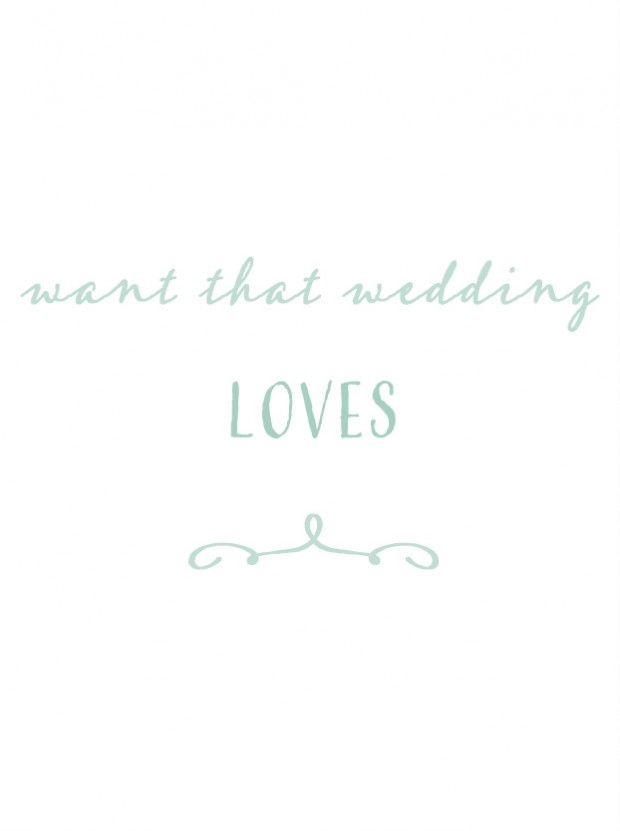 Want that Wedding Loves