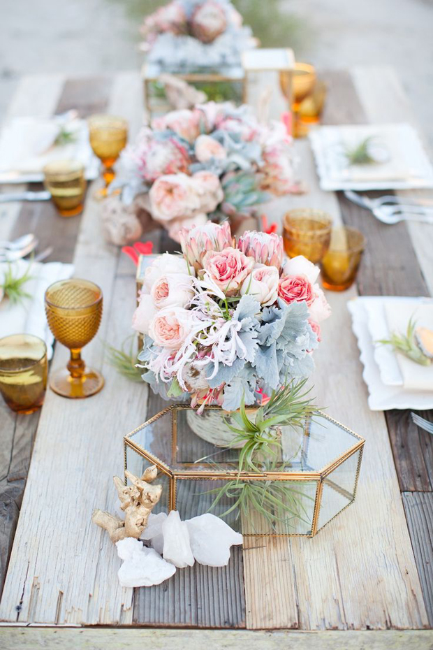 30 Perfectly Pretty Wedding Table Centerpiece Ideas!