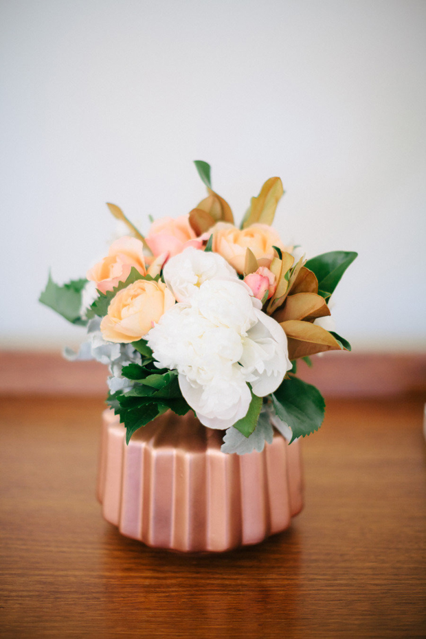 copper centrepiece ideas