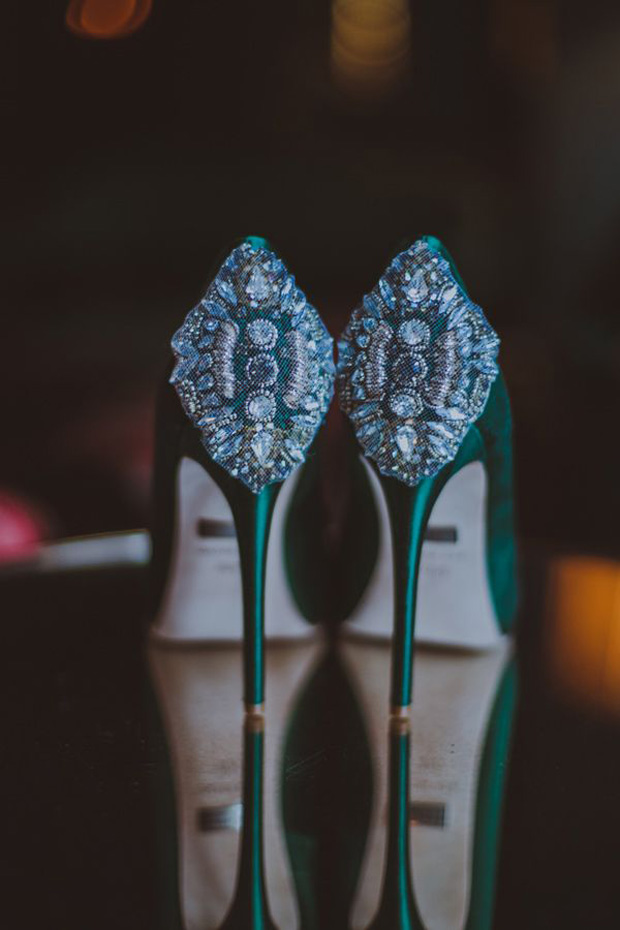 emerald badgley mishka wedding heels