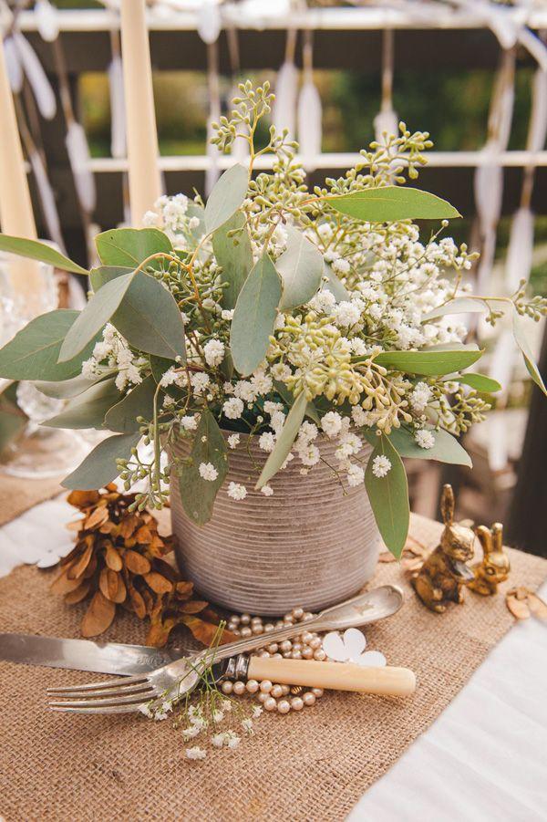 organic rustic wedding inspiration