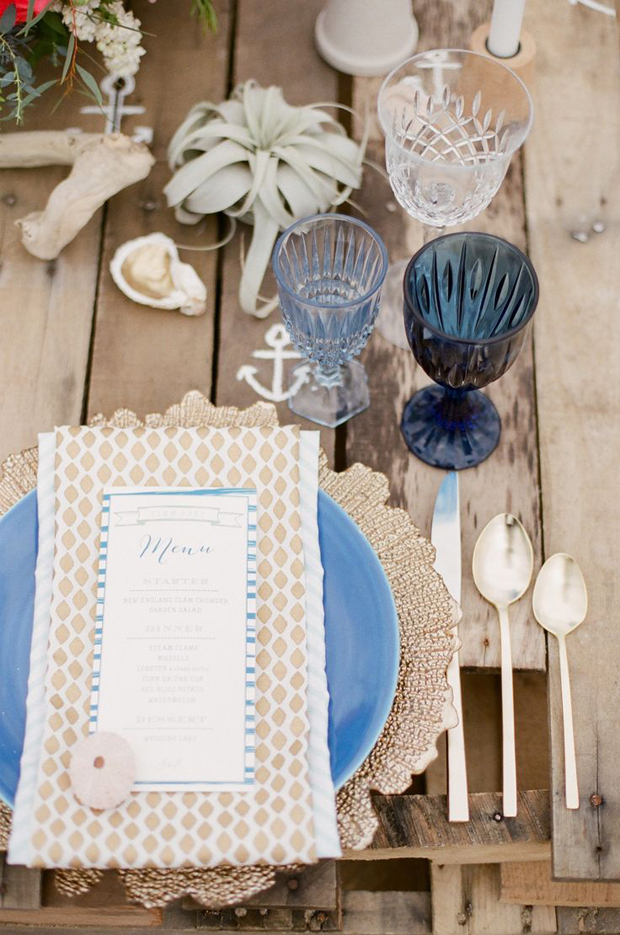 Shipwrecked Rustic Coastal Wedding Inspiration