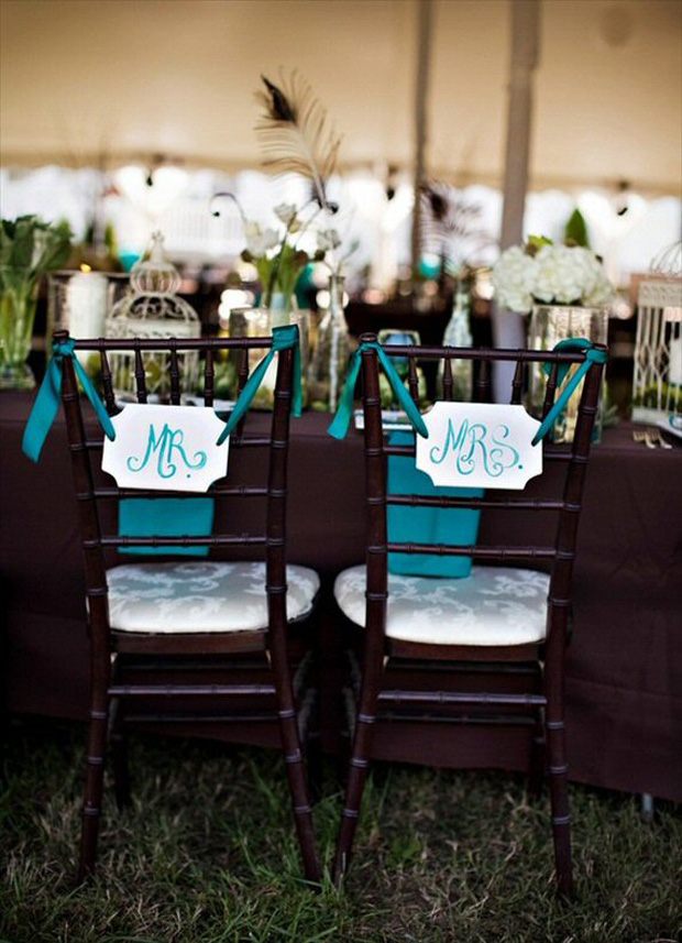 teal-wedding-mr-mrs-chair-signs