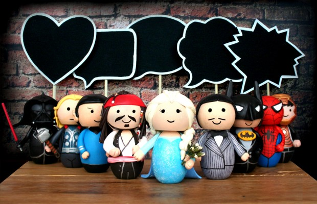 Oh My Hero: Cool Cake Toppers Inspired by Iconic TV & Movie Characters