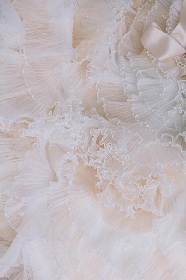 Magical Snow White & Pretty Blush Wedding Inspiration
