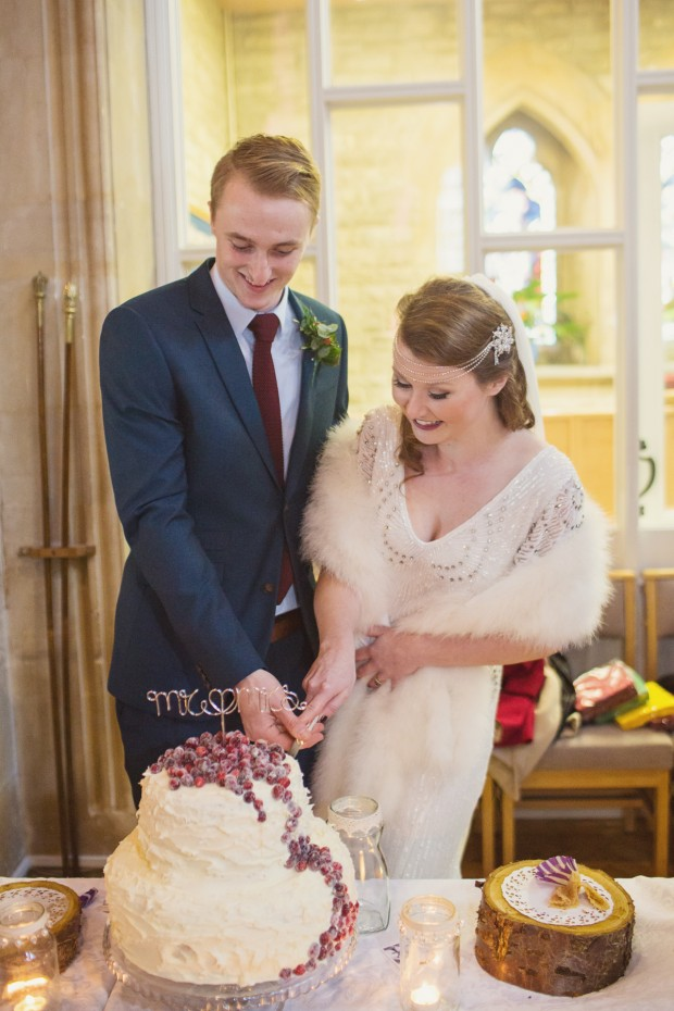 1920s inspired christmas winter wedding (142)