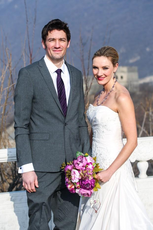 Brett & Amelia's World Wedding Tour: The Great Wall of China, Beijing!