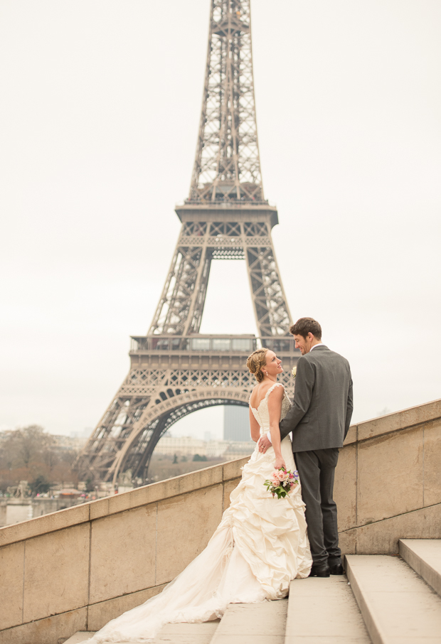 Brett & Amelia's World Wedding Tour: The Eiffel Tower, Paris!
