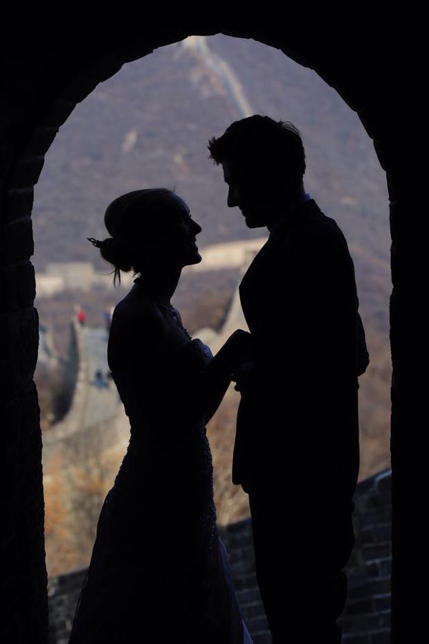 Brett & Amelia's World Wedding Tour The Great Wall of China, Beijing (5)