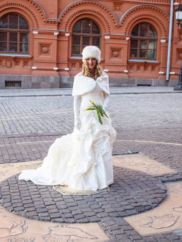 Brett & Amelia's World Wedding Tour The Kremlin, Moscow (5)
