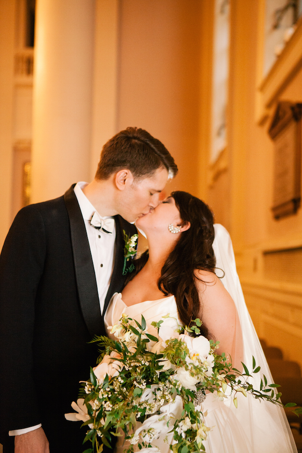 A Chic & Sparkling New York City Inspired Real Wedding: Kate & Doug