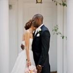 Pretty Pastel Garden Party, British & African Fusion Wedding: Jenny & Topsy