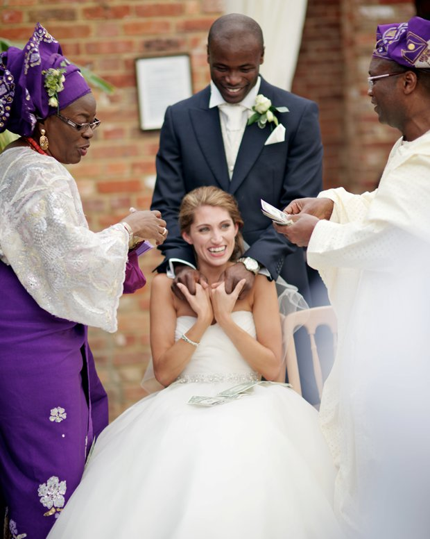 Pretty Pastel Garden Party, British & African Fusion Wedding: Jenny & Topsy