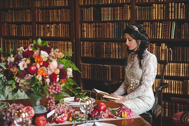 Literary Aspirations Styled Wedding Shoot_0042