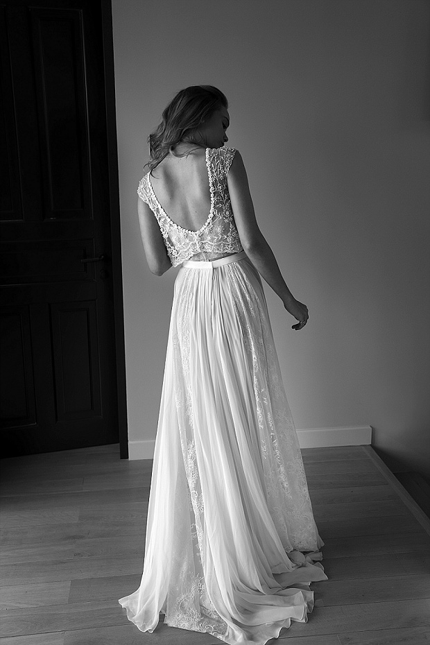 Film Noir in White: Lihi Hod Wedding Dresses 2015