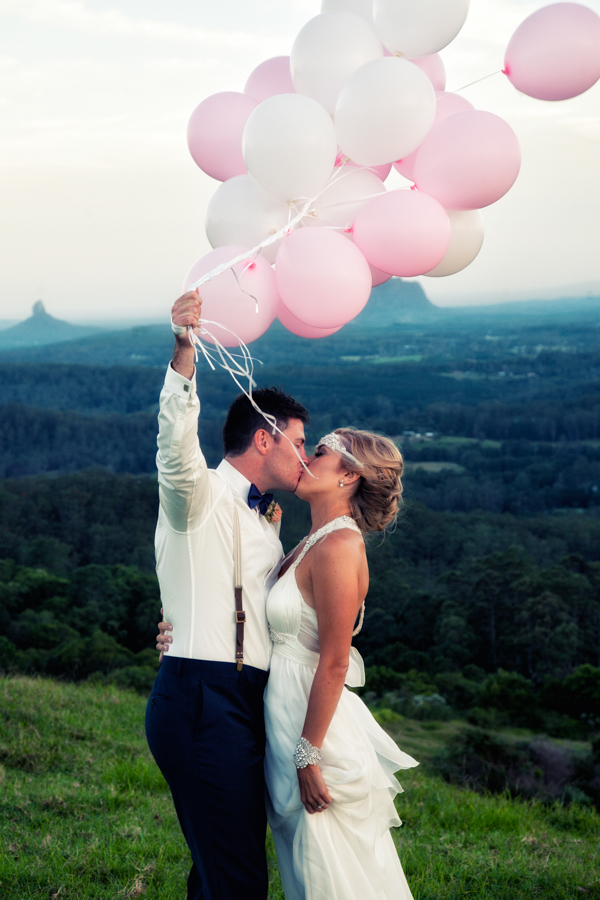 Rustic Chic & Pretty Pink Vineyard Wedding: Helaina & Ben