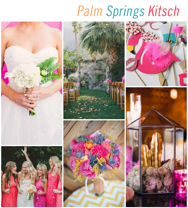 Palm Spring Kitsch Wedding Inspiration