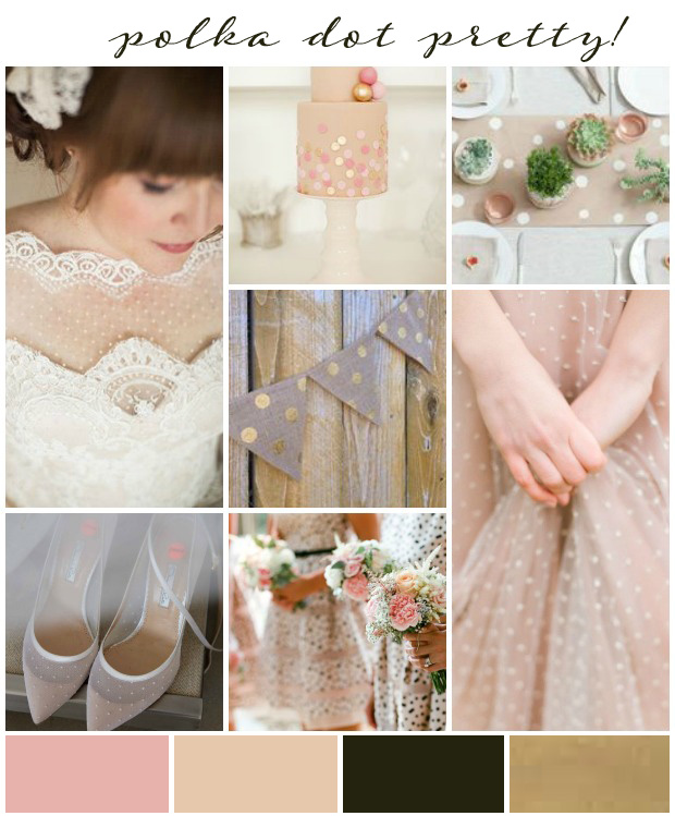 Polka Dot Pretty: Wedding Inspiration & Ideas