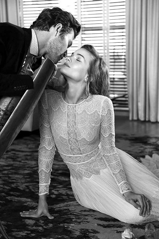 Film Noir in White: Lihi Hod Wedding Dresses 2015